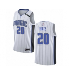 Men's Orlando Magic #20 Markelle Fultz Authentic White Basketball Jersey - Association Edition