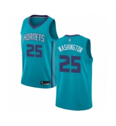 Men's Jordan Charlotte Hornets #25 PJ Washington Authentic Teal Basketball Jersey - Icon Edition