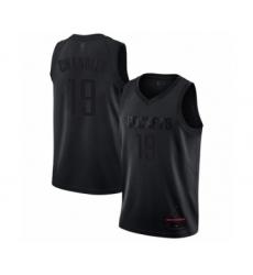 Men's Houston Rockets #19 Tyson Chandler Swingman Black MVP Basketball Jersey