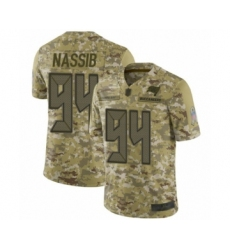Men's Tampa Bay Buccaneers #94 Carl Nassib Limited Camo 2018 Salute to Service Football Jersey