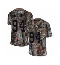 Men's Tampa Bay Buccaneers #94 Carl Nassib Limited Camo Rush Realtree Football Jersey