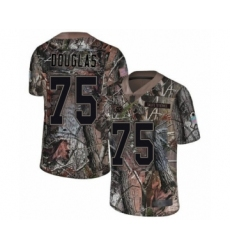 Men's Tennessee Titans #75 Jamil Douglas Limited Camo Rush Realtree Football Jersey