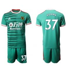 Wolves #37 Adama Third Soccer Club Jersey