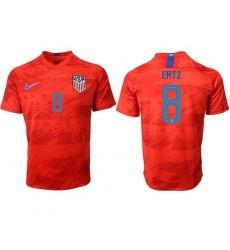 USA #8 Ertz Away Soccer Country Jersey