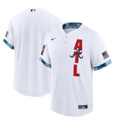 Men's Atlanta Braves Blank Nike White 2021 MLB All-Star Game Replica Jersey