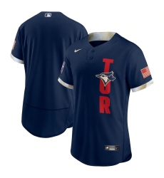 Men's Toronto Blue Jays Blank Nike Navy 2021 MLB All-Star Game Authentic Jersey