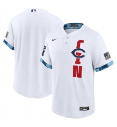 Men's Cincinnati Reds Blank Nike White 2021 MLB All-Star Game Replica Jersey