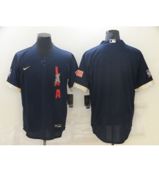 Men's Los Angeles Angels of Anaheim Blank Nike Navy 2021 All-Star Game Replica Player Jersey