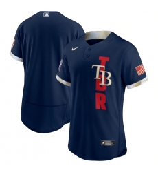 Men's Tampa Bay Rays Blank Nike Navy 2021 MLB All-Star Game Authentic Jersey