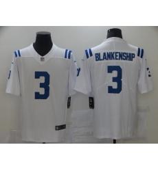 Men's Indianapolis Colts #3 Rodrigo Blankenship White Nike Royal Limited Jersey