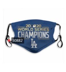 MLB Los Angeles Dodgers Mask-0010