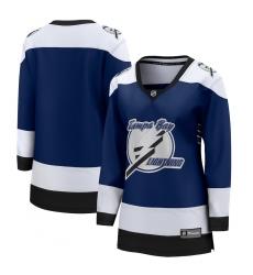 Women's Tampa Bay Lightning Blank Fanatics Branded Royal 2020-21 Special Edition Breakaway Jersey