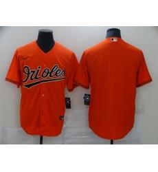 Men's Baltimore Orioles Blank Orange Nike Authentic Jersey