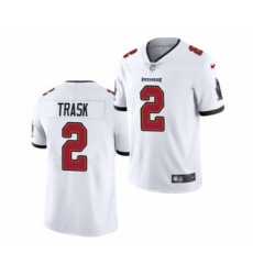 Men's Tampa Bay Buccaneers #2 Kyle Trask 2021 Football Draft White 2021 Vapor Untouchable Limited Jersey