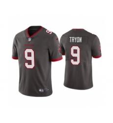 Men's Tampa Bay Buccaneers #9 Joe Tryon 2021 Football Draft Gray 2021 Vapor Untouchable Limited Jersey