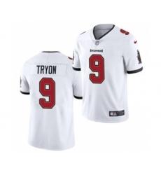 Men's Tampa Bay Buccaneers #9 Joe Tryon 2021 Football Draft White 2021 Vapor Untouchable Limited Jersey