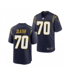 Men's Los Angeles Chargers #70 Rashawn Slater Navy 2021 Vapor Untouchable Limited Jersey