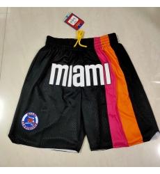 Men's Miami Heat Rainbow version of the Juston pocket Shorts