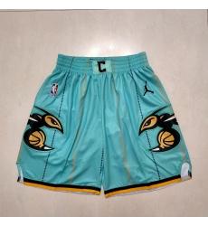 Men's Charlotte Hornets Green Shorts
