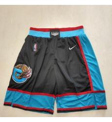 Men's Memphis Grizzlies Black New Shorts