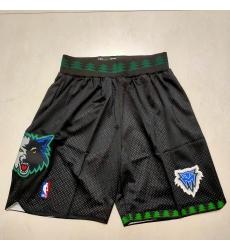 Men's Memphis Grizzlies Black Shorts