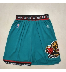 Men's Memphis Grizzlies Green Clover Trefoil Shorts