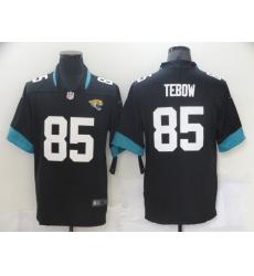 Men's Jacksonville Jaguars #85 Tim Tebow Nike Black 2021 Alternate Limited Jersey