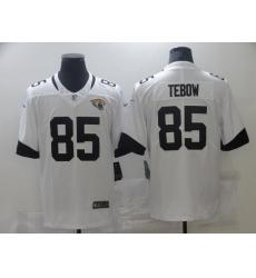 Men's Jacksonville Jaguars #85 Tim Tebow Nike White 2021 Alternate Limited Jersey