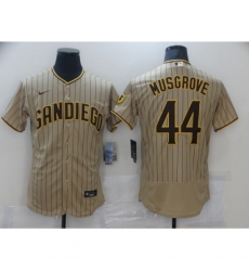 Men's Nike San Diego Padres #44 Joe Musgrove White Collection Baseball Jersey