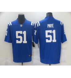 Men's Indianapolis Colts #51 Kwity Paye Nike Royal 2021 NFL Draft First Round Pick Limited Jersey