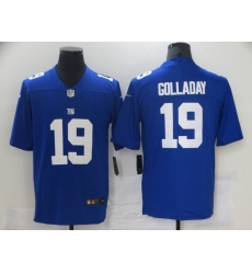 Men's New York Giants #19 Kenny Golladay Blue Nike Limited Jersey