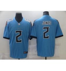 Men's Tennessee Titans #2 Julio Jones Nike Blue Draft First Round Pick Limited Jersey