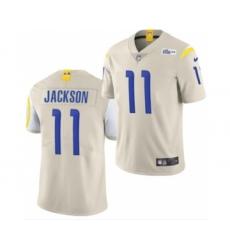 Men's Los Angeles Rams #11 DeSean Jackson White Bone Stitched Football Limited Jersey