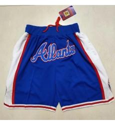Men's Atlanta Braves Blue Shorts