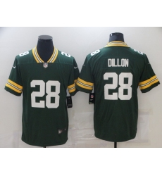 Men's Green Bay Packers #28 AJ Dillon Green Team Color Vapor Untouchable Limited Jersey