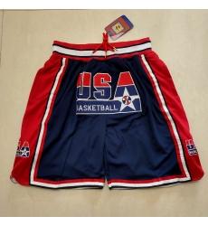 Men's Team USA Blue Pocket Shorts
