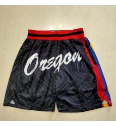 Men's Portland Trail Blazers Black Shorts