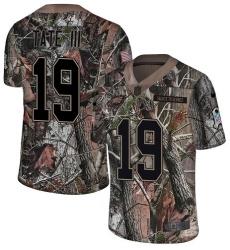 Men's Nike Philadelphia Eagles #19 Golden Tate III Camo Rush Realtree Limited NFL Jersey