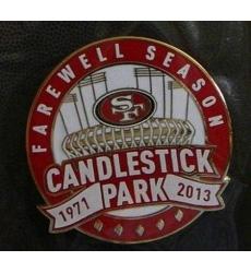 Stitched NFL San Francisco 49ers 1971-2013 Jersey Patch