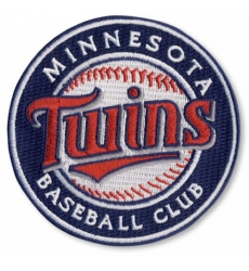 Stitched MLB Minnesota Twins Round Logo Sleeve Patch (2010)