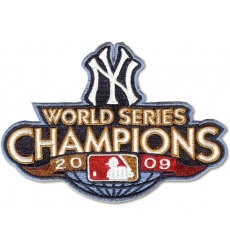 Stitched 2009 New York Yankees Baseball World Series Champions Jersey
