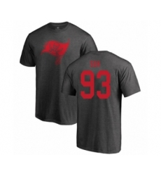 Football Tampa Bay Buccaneers #93 Ndamukong Suh Ash One Color T-Shirt