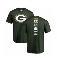 Football Green Bay Packers #55 Za'Darius Smith Green Backer T-Shirt