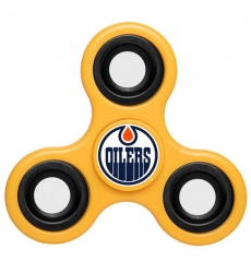 NHL Edmonton Oilers 3 Way Fidget Spinner D115 - Yellow