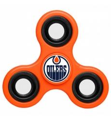 NHL Edmonton Oilers 3 Way Fidget Spinner E115 - Orange