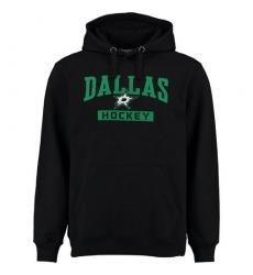 NHL Men's Dallas Stars Rinkside City Pride Pullover Hoodie - Black