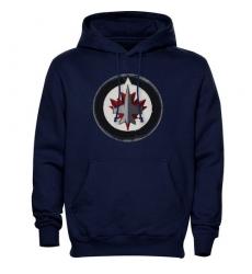 NHL Men's Levelwear Winnipeg Jets Freshman Hoodie - Navy Blue