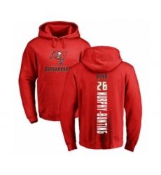 Football Tampa Bay Buccaneers #26 Sean Murphy-Bunting Red Backer Pullover Hoodie