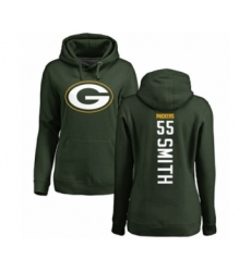 Football Women's Green Bay Packers #55 Za'Darius Smith Green Backer Hoodie