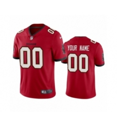 Tampa Bay Buccaneers Custom Red 2020 Vapor Limited Jersey